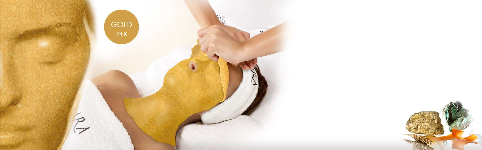 Guld Mask Behandling